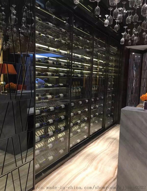 酒莊酒窖不鏽鋼酒櫃恆溫酒櫃定製廠家791674995