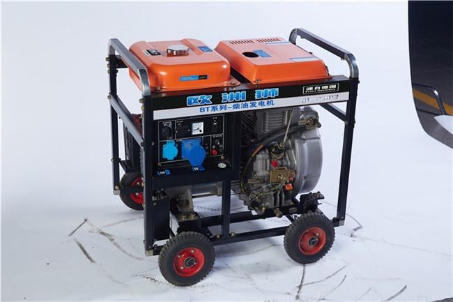 手推式6千瓦小型柴油附发电机107911402