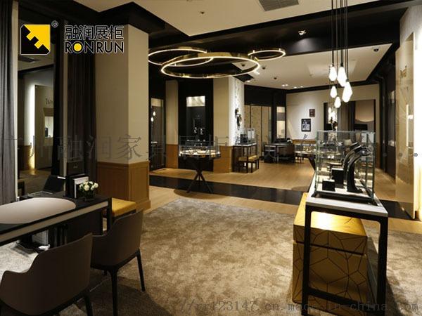 融潤展櫃定做珠寶店珠寶展櫃 不鏽鋼珠寶櫃檯製作105912335