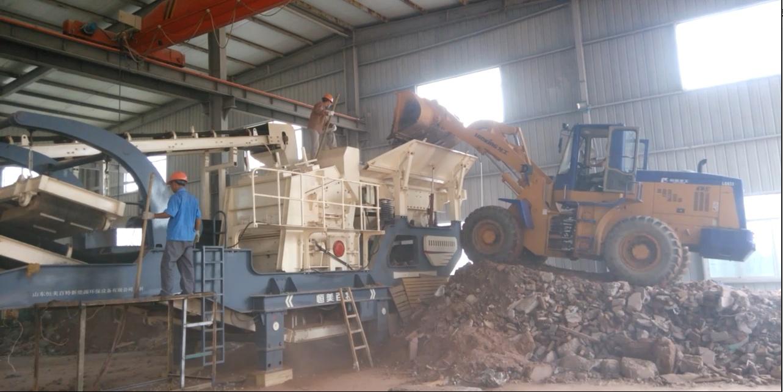 移動式破碎站廠家 石料破碎機 建築垃圾破碎機型號72538422