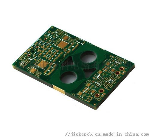 生益FR-4环氧树脂6层高密度半孔多层线路板818109375