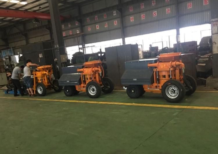四川德阳小型湿喷机式湿喷机生产厂家