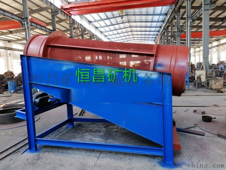 齿轮滚筒筛 圆筒筛生产厂家 圆筒式滚筒筛112459032
