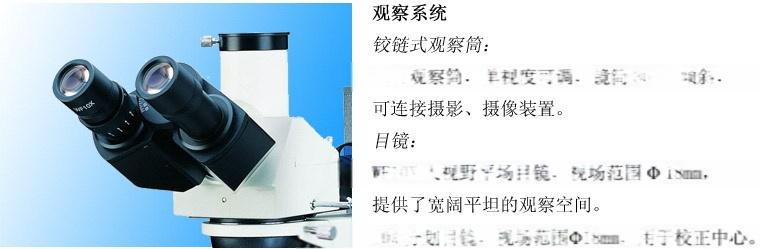 CR20-U1000型金属材料检测三目金相显微镜131123265