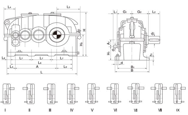 泰兴昌泰ZFY225-125多级传动硬齿面减速机4834755