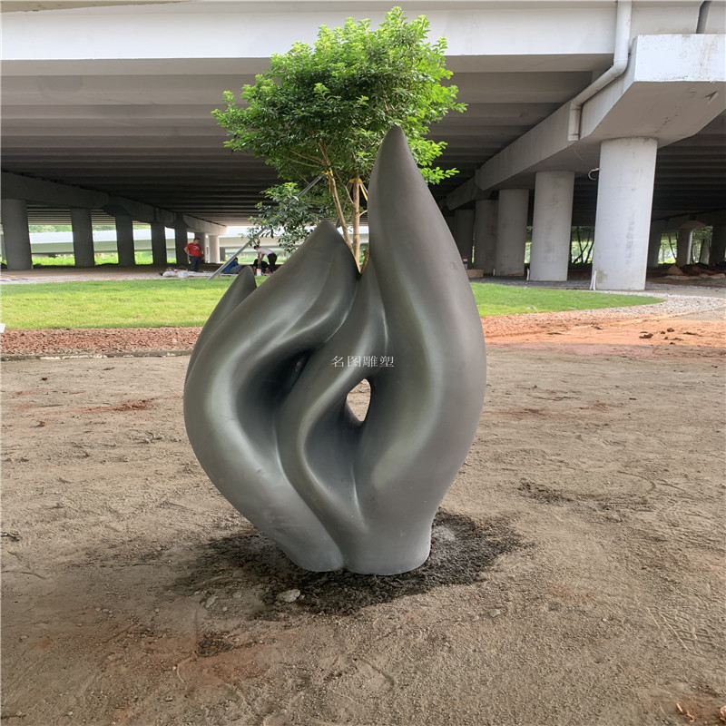 花都玻璃钢小品雕塑 花园装饰小品雕塑造型844594552