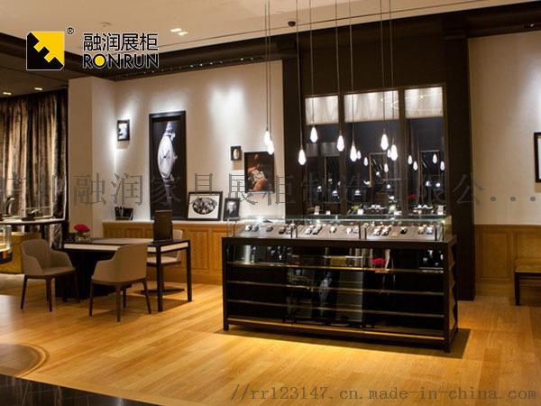 融潤展櫃定做珠寶店珠寶展櫃 不鏽鋼珠寶櫃檯製作105912365