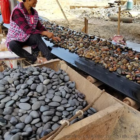 3-5公分天然黑色鹅卵石