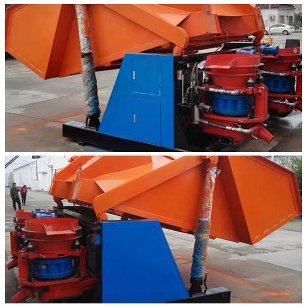 山东滨州市吊装式喷浆车信誉保证pz-7喷浆机