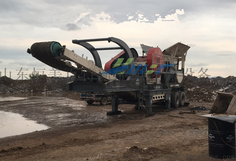恒美百特建筑垃圾混凝土破碎设备 山东碎石机厂家769960382