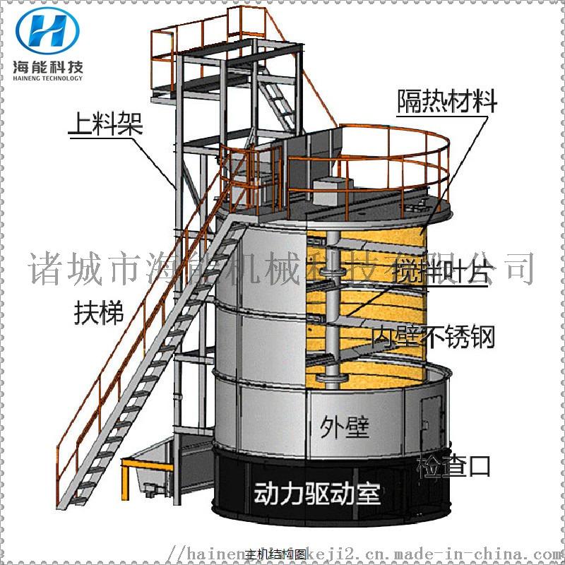 智能好氧发酵罐,动物粪便发酵罐 有机肥加工设备833284442