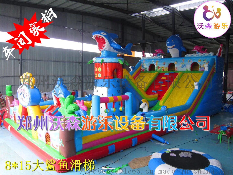 河南充气城堡厂家,儿童充气滑梯2019热销款式83221442
