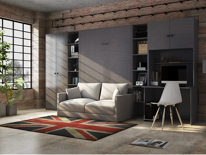 电动隐形床自制电动隐形床安装图103178885