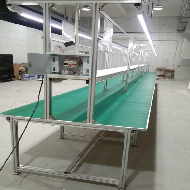车间生产线 防静电工作台双面带灯 装配维修操作台131038622
