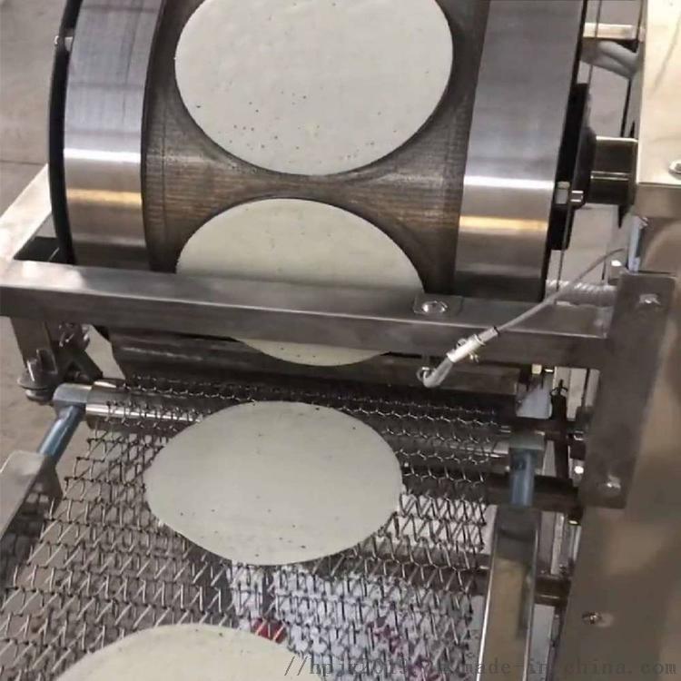 自主研发烤鸭饼机  新工艺荷叶饼成型设备 加工定制127701782