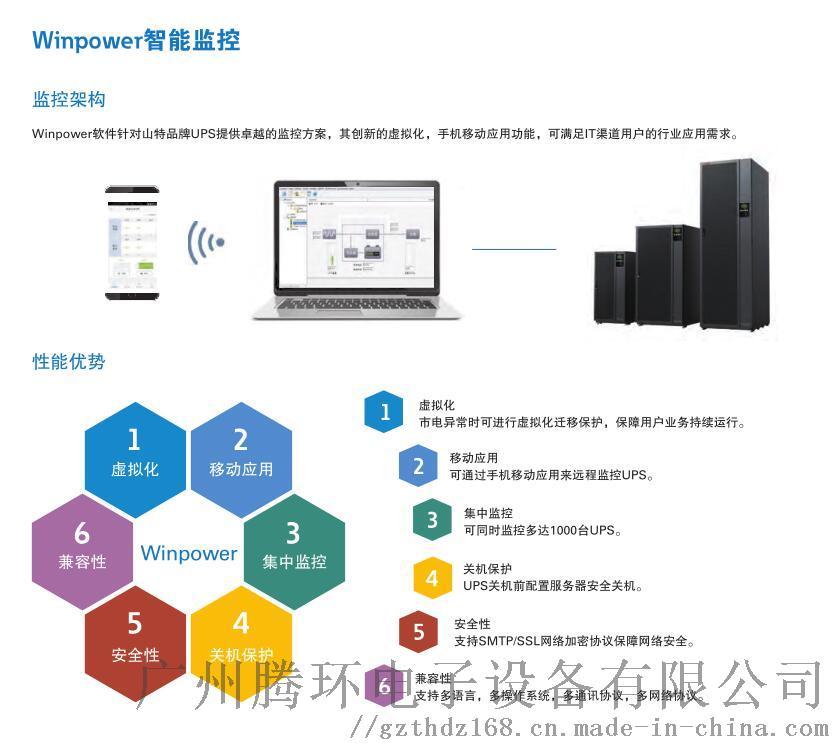 山特UPS电源城堡3C3 PRO系列20-200K104557445