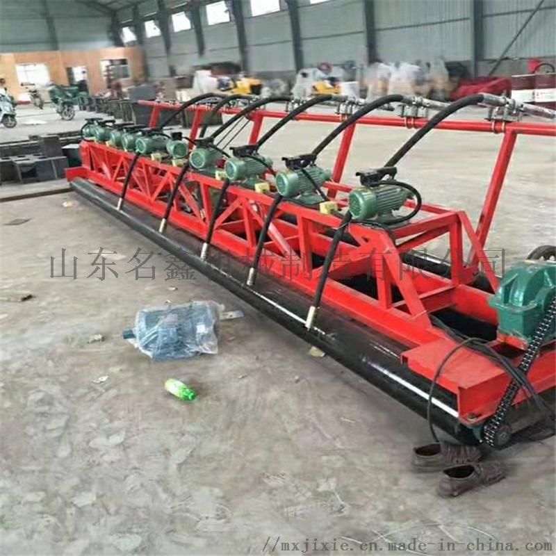 定制3.5-12米加长摊铺机 起拱架子三滚轴摊铺机832490012