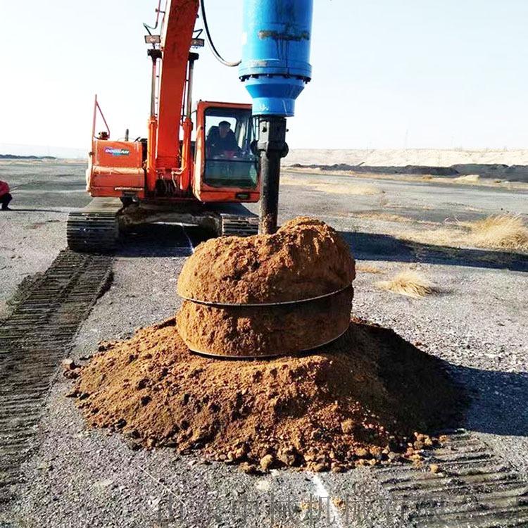 挖机改螺旋钻机,大孔轮挖改螺旋钻机,挖机改螺旋钻机838900372