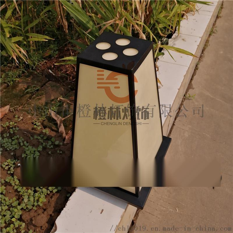 日式宫灯落地灯餐厅景观灯户外仿云石立柱灯门口水景灯880094845