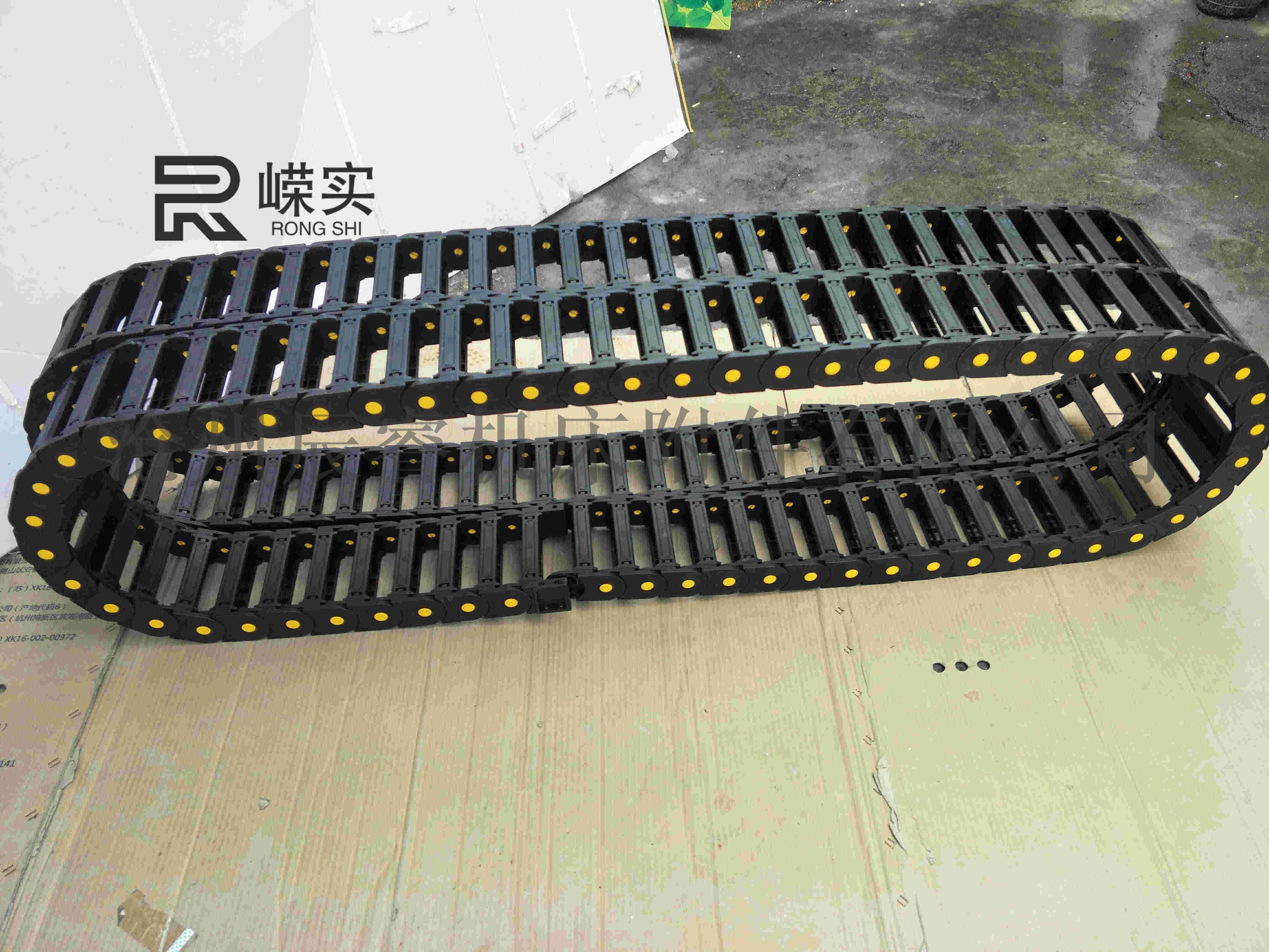 桥式拖链细节图,桥式拖链样品图,桥式拖链图片库850547985