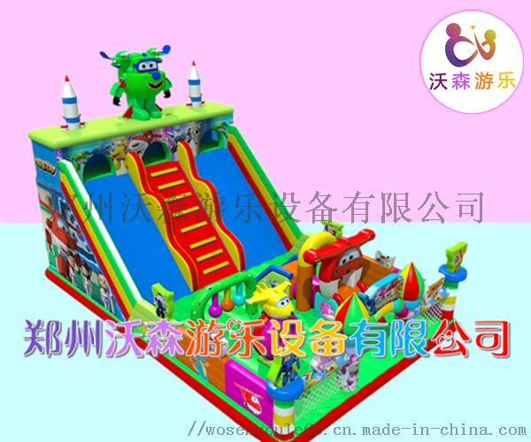 河南充气城堡厂家,儿童充气滑梯2019**款式83221402