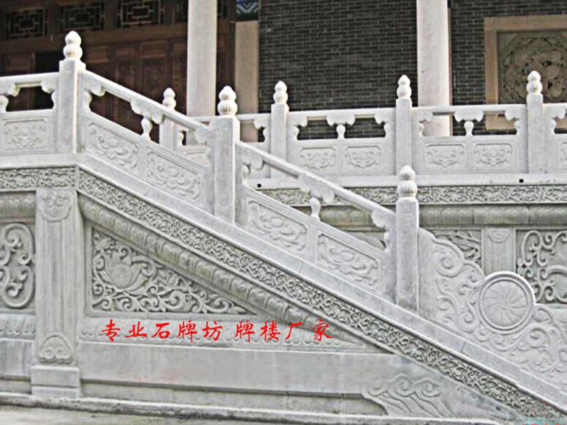 石刻护栏_石雕栏杆_石材护栏_河道护栏安装79585202