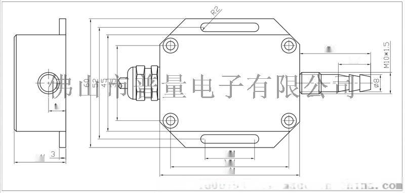 PT500-708风压传感器风压变送器57590315