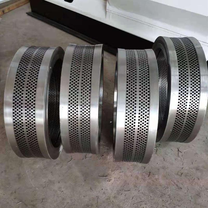 供应**560颗粒机环模模具 耐磨合金钢环模模具出料均匀837383932