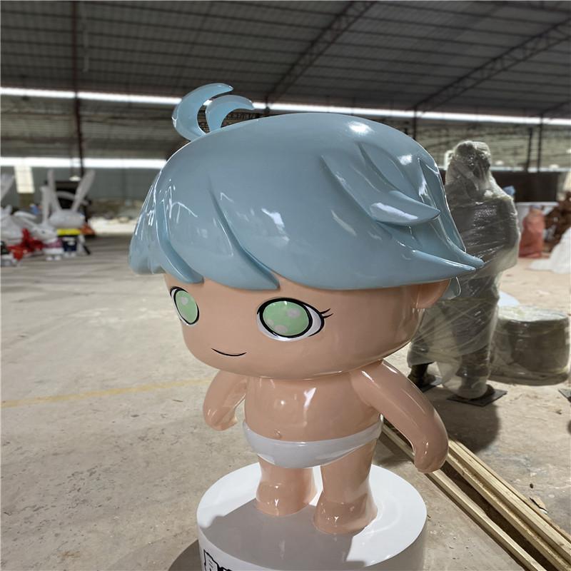 珠海早教中心卡通公仔雕塑 玻璃钢卡通雕塑幼儿园摆件154674535