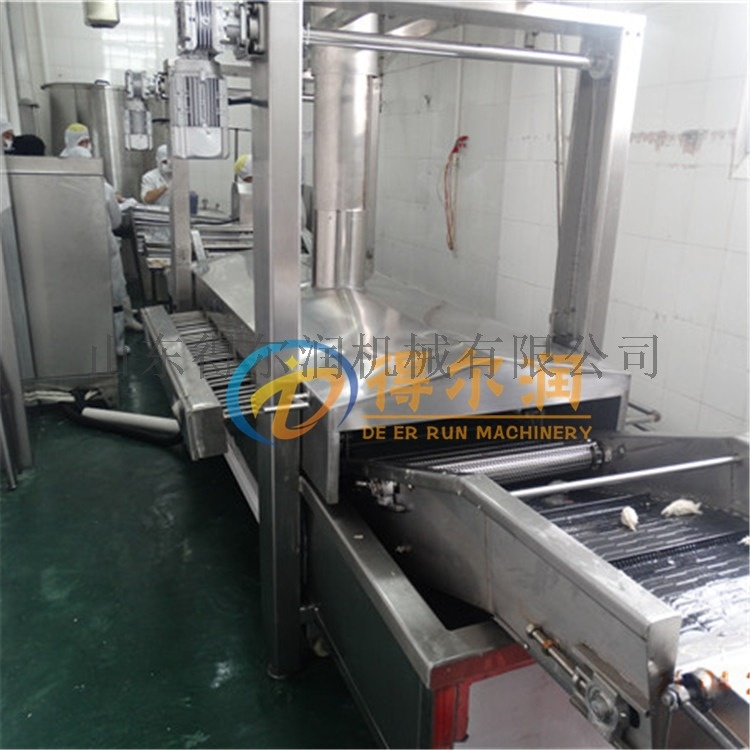 DR2膨化锅巴油炸生产线优势 环保自动锅巴油炸设备57103342