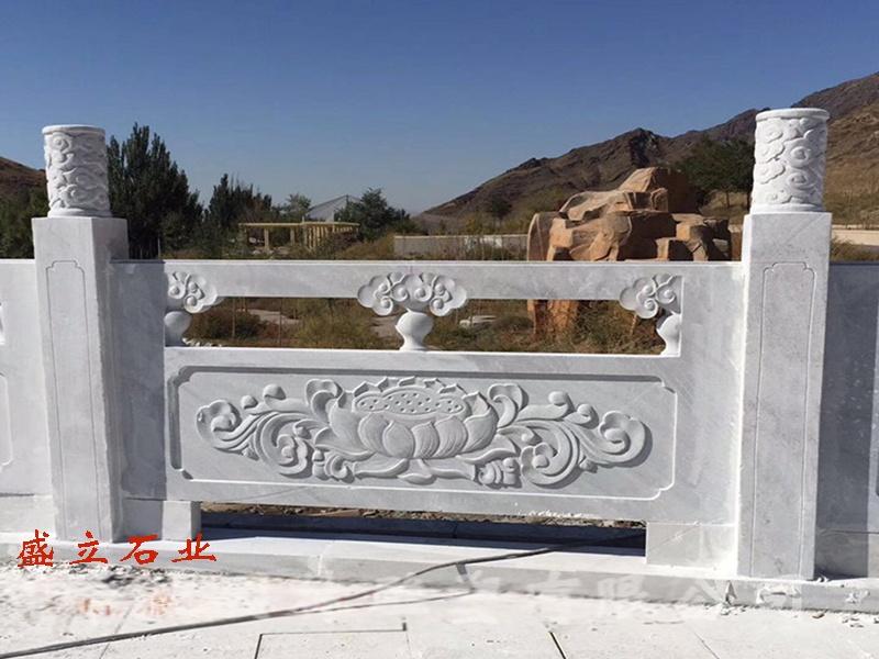 石材栏杆/河道工程石雕护栏/景区池边石雕围栏厂家79580522