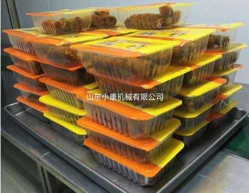 供应立式封盒机,山东小康牌整只烧鸡气调保鲜封盒机66422102
