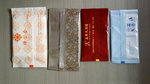 单片湿巾包装