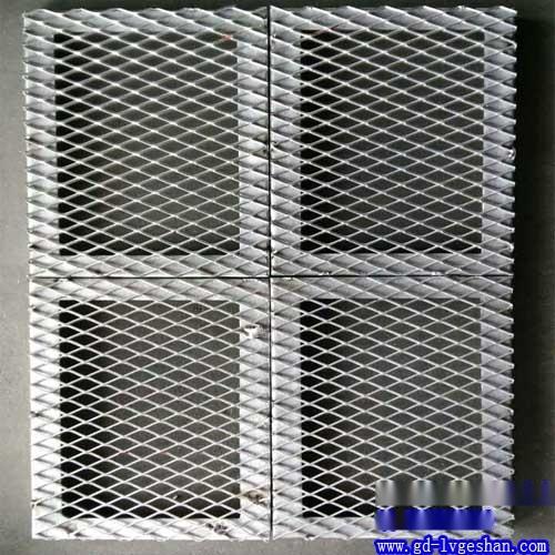 菱形铝网板 网格铝板 铝板网价格