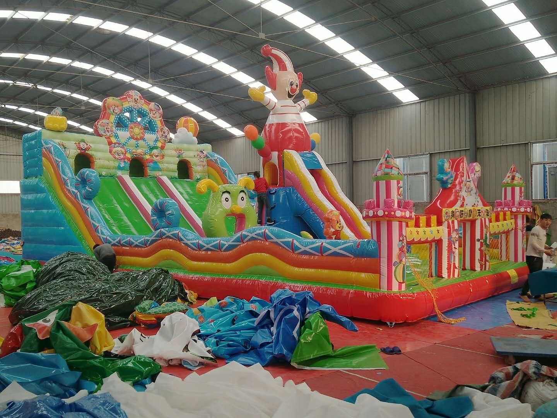 河南三門峽大型新款充氣滑梯廠家直銷828135852