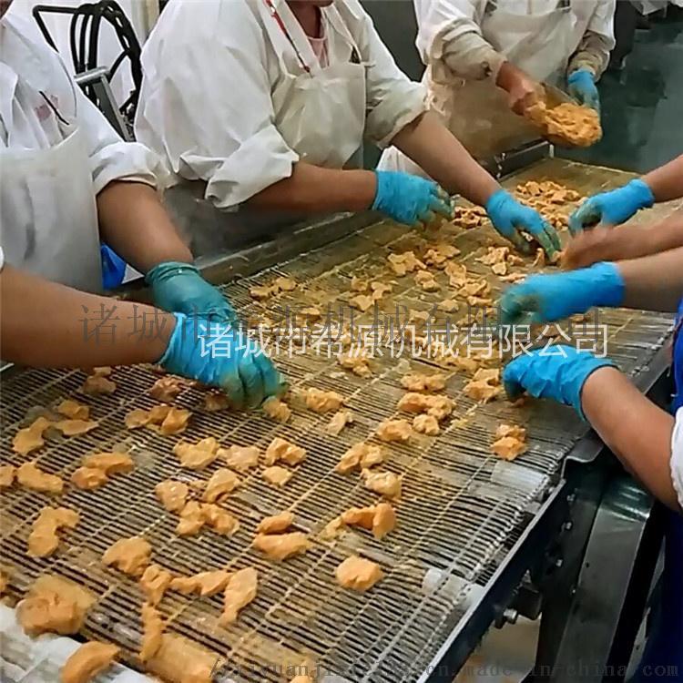 滚筒鸡块裹粉机 鸡块挂糊机 鸡块涂裹生产线设备779757222