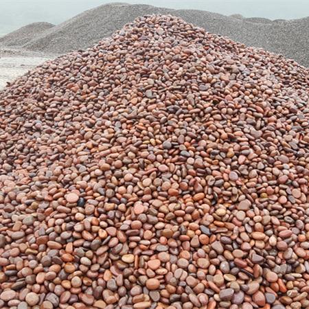 红色鹅卵石2-3cm