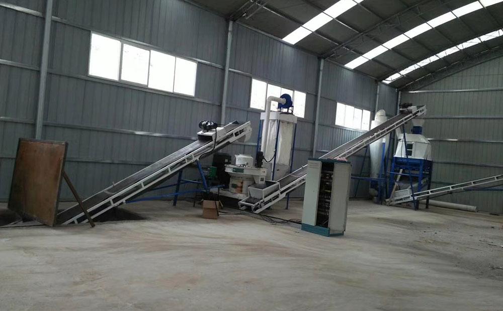 济南新能源稻壳颗粒机 木材颗粒机生产线114254722