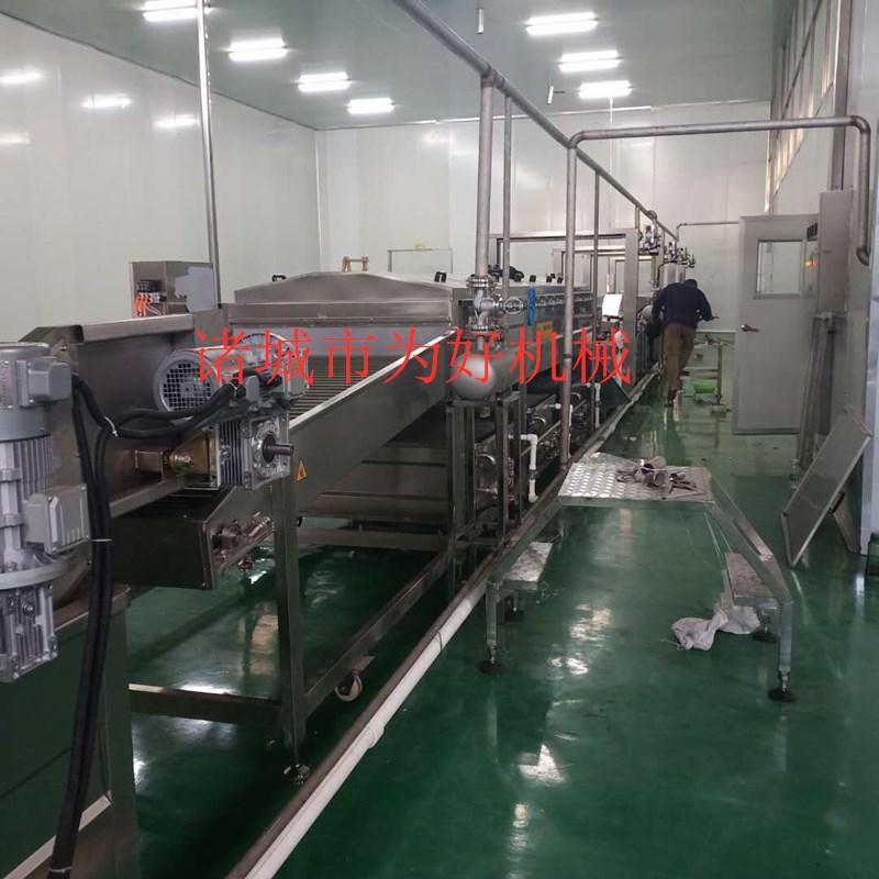 贵州花椒杀青线  蔬菜清洗机 杀青流水线设备126638492