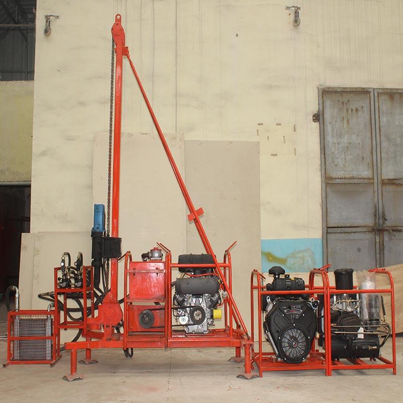 回转式山地钻机钻孔速度快 四川页岩层专用山地钻机761916452