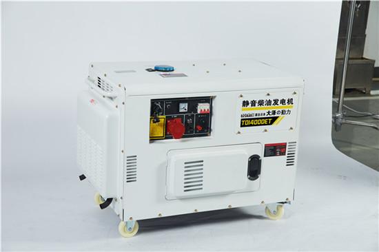 无刷10kw静音柴油发电机体积大泽动力100963512