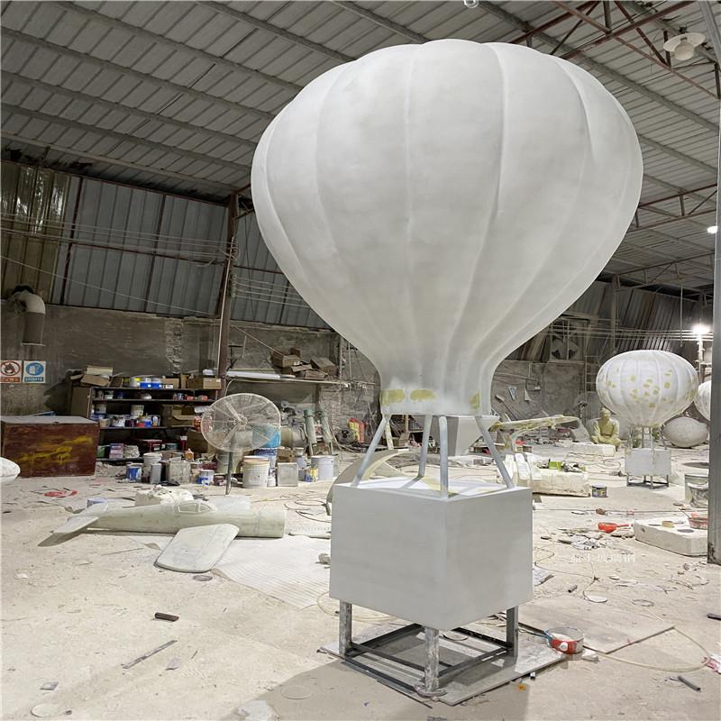 海南玻璃钢气球雕塑 楼盘广场仿真热气球雕塑道具154674725