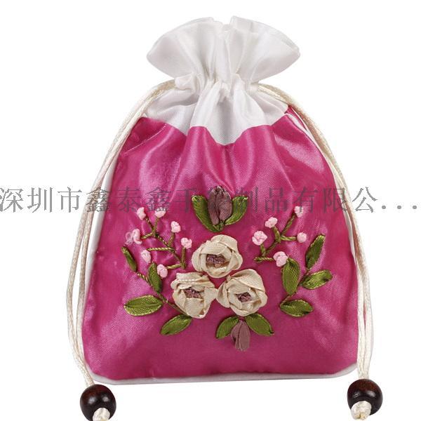 精美束口拉绳礼品珠宝首饰袋867982125