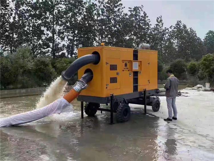 防水防洪8寸柴油自吸水泵140039742
