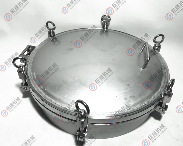 圆形压力型人孔盖人孔表面不抛光酸洗处理3公斤圆人孔47899855