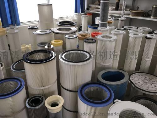 覆膜防静电除尘滤芯 炼钢厂除尘滤筒 除尘滤芯852475662
