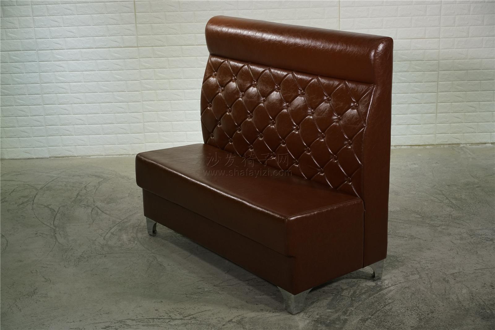 时尚主题火锅店卡座沙发定做91017335