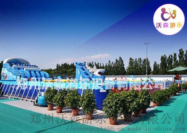 大型支架游泳池定做,河南支架水池专业生产厂家97602372