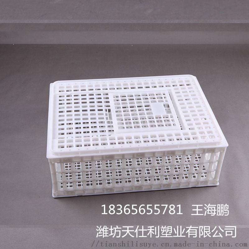 鸡鸭兔运输笼子 拉鸡塑料笼子 大鸡塑料笼子134120605