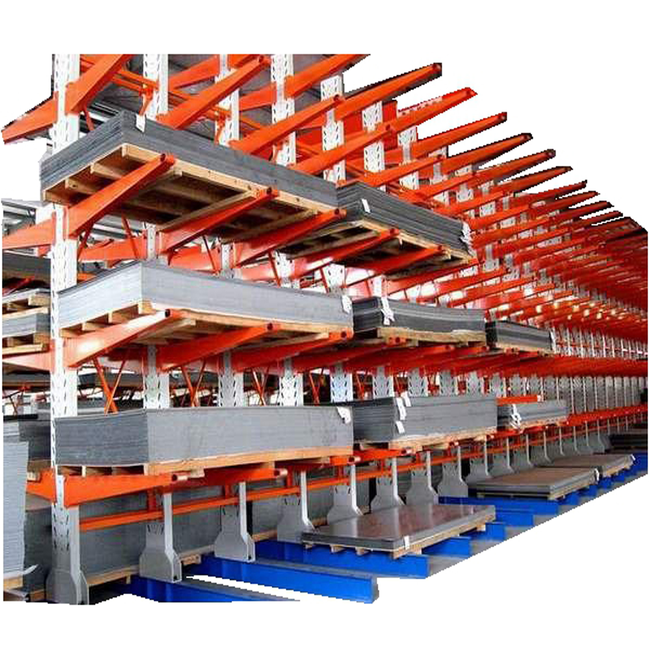 伸臂式货架,悬臂式货架,卷材仓库货架148229445